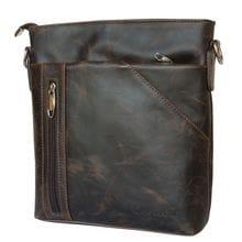 Кожаная мужская сумка Lonato brown (арт. 5011-02)