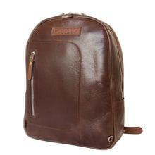 Кожаный рюкзак Albera cog/brown (арт. 3055-03)