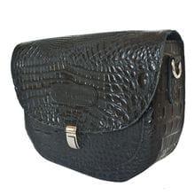 Кожаная женская сумка Amendola black (арт. 8003-01)