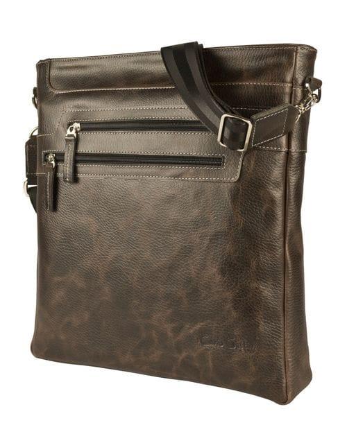 Кожаная мужская сумка Torreano brown (арт. 5052-04)