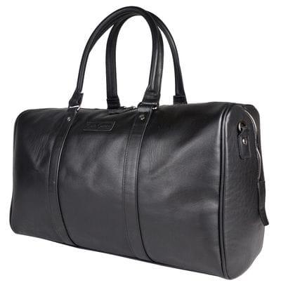 Кожаная дорожная сумка Brusson black (арт. 4030-01)