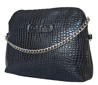 Кожаная женская сумка Asolo black (арт. 8010-01)