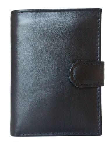 Кожаное портмоне Aringo black (арт. 7410-01)