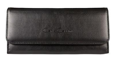 Кожаный кошелек Bellona black (арт. 7703-01)