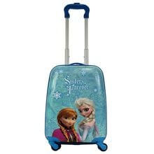 Чемодан детский Atma kids, Frozen, sisters forever purple, 44 см