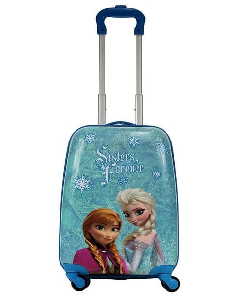 Чемодан детский Atma kids Frozen, sisters forever purple, 44 см