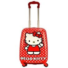 Чемодан детский Atma kids, Hello Kitty, red white dots, 44 см