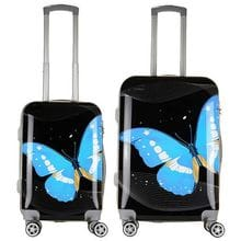 Комплект чемоданов 2в1 Impreza Butterfly Night Moth (M+S)