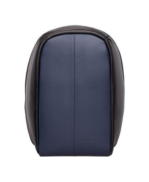 Мужской кожаный рюкзак Blandford Dark Blue/Black