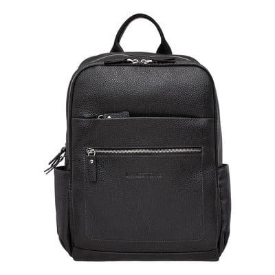 Кожаный рюкзак Goslet Black