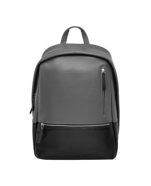 Кожаный рюкзак Adams Black Grey