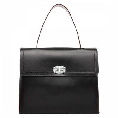 Женская сумка Astrey Black/Burgundy