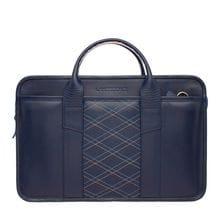 Lakestone Деловая сумка Marion Dark Blue Rhombus