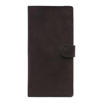 Клатч Oram Black мужской кожаный черный
