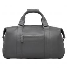 Кожаная дорожно-спортивная сумка Woodstock Grey