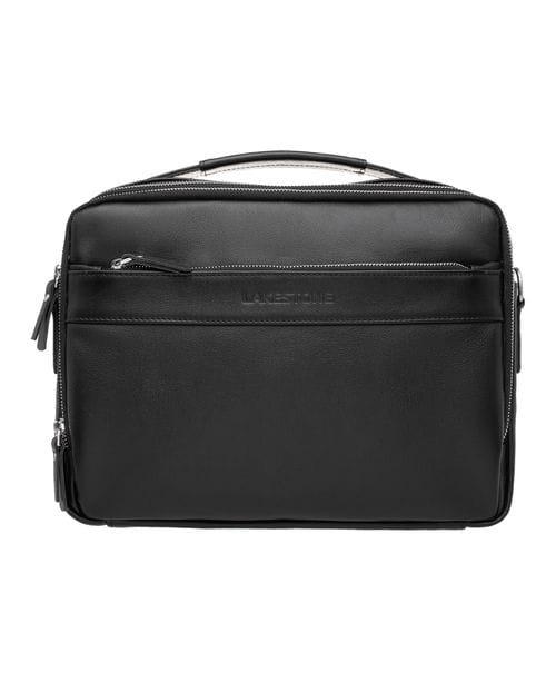 Кожаная мужская сумка Anhor Black