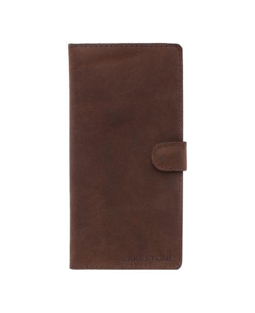 Клатч Oram Brown мужской кожаный коричневый
