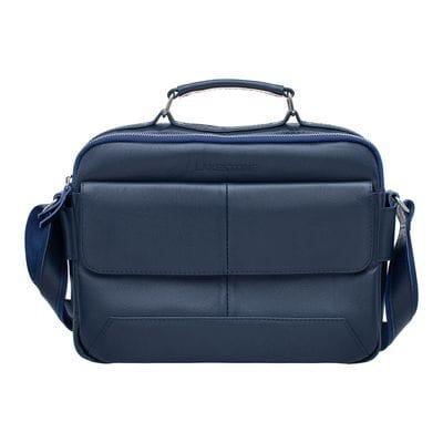 Мужская сумка мессенджер Button Dark Blue