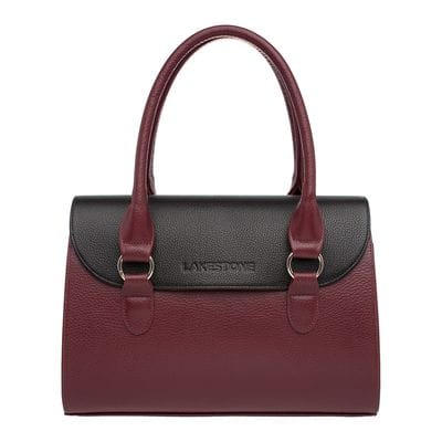 Женская сумка Lakestone Bloy Burgundy/Black