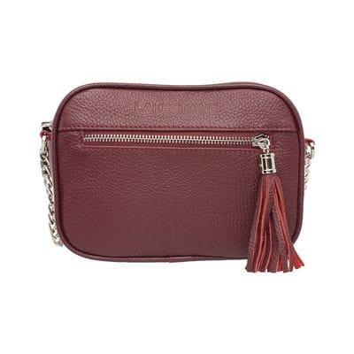 Женская сумка Lakestone Edna Burgundy