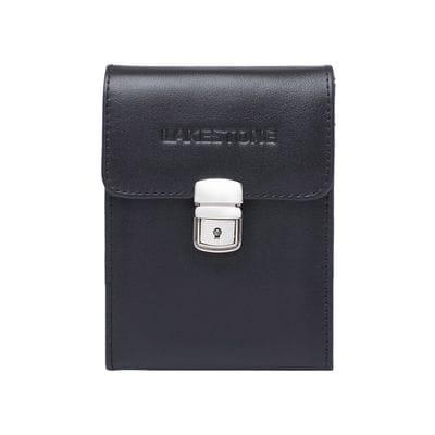 Lakestone Небольшая кожаная сумка для документов Tormarton Black