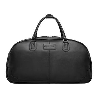 Кожаная дорожная сумка Jutland Black