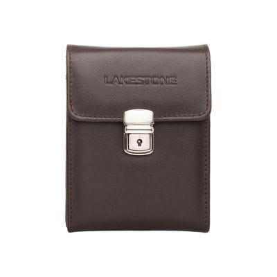 Lakestone Небольшая кожаная сумка для документов Tormarton Brown