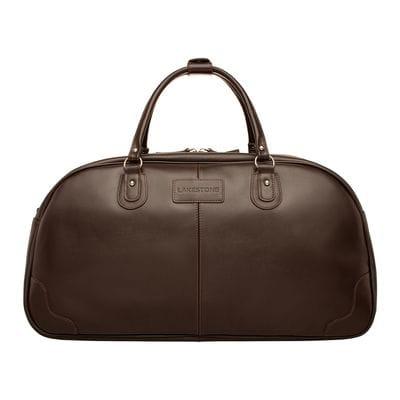 Кожаная дорожная сумка Jutland Brown