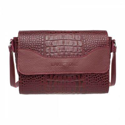 Женская сумка Lakestone Kidney Burgundy