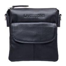 Lakestone Небольшая кожаная сумка через плечо Osborne Black
