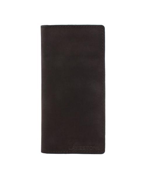 Клатч Anvil Black мужской кожаный черный