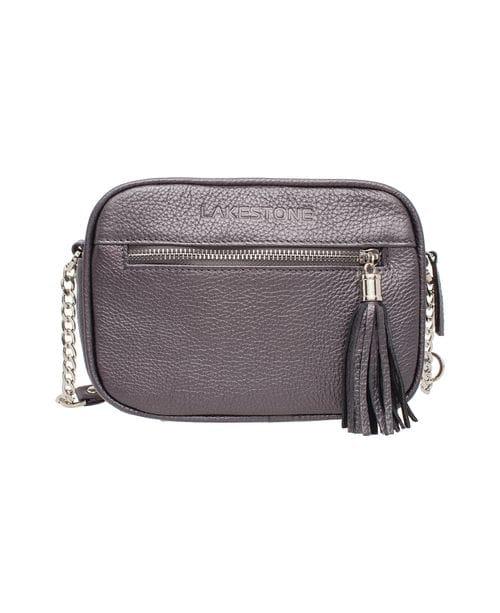 Женская сумка Lakestone Edna Silver Grey