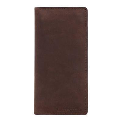 Клатч Anvil Brown мужской кожаный коричневый