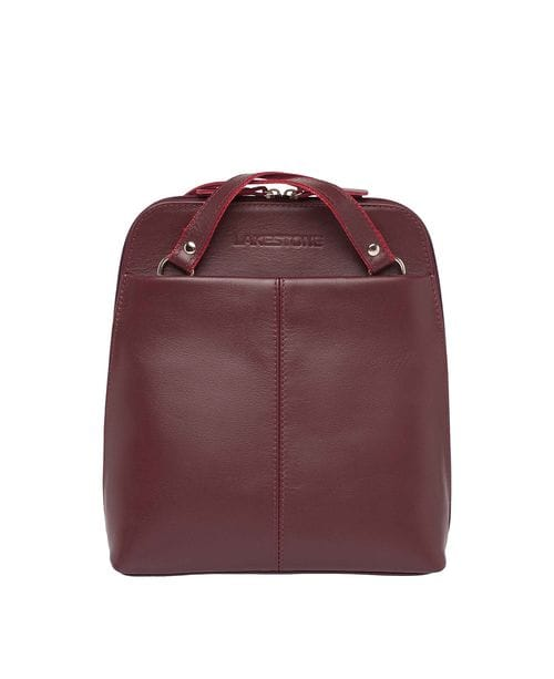 Lakestone Компактный женский рюкзак-трансформер Eden Burgundy